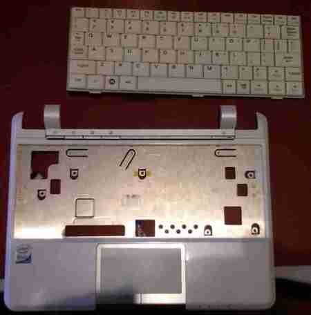 Eee PC 901 keyboard chassis