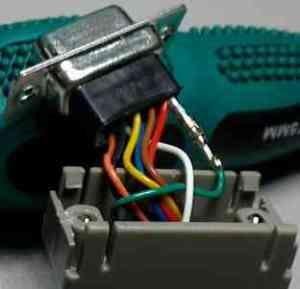 RJ45-DB9