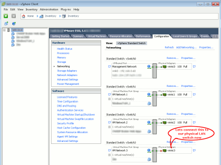 ESX Network Configuration
