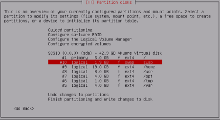 Partitioning Disks