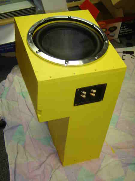 VY sub woofer and enclosure